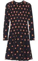 Jill Stuart Kristen Printed Silk Dress - Lyst
