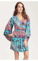 Laundry By Shelli Segal Scarf Print Jersey Dress - Lyst