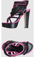 Giuseppe Zanotti x Christopher Kane Giuseppe Zanotti For Christopher Kane - Platform Sandals - Lyst