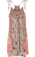 Isabel Marant Vick Printed Silk-georgette Dress - Lyst