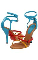 Bottega Veneta Strappy Sandals - Lyst