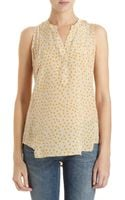 Madison Marcus Polka Dot Top - Lyst