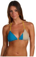 Marc By Marc Jacobs Simon Colorblock Triangle Bra - Lyst