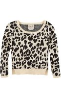 Sea Leopard Sweater - Lyst