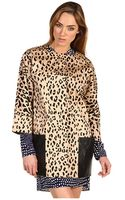 Tibi Cheetah Coat - Lyst