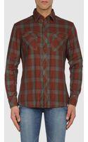 Diesel Long Sleeve Shirt - Lyst