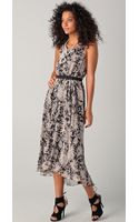 Halston Heritage Day Dress - Lyst