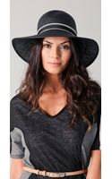 Rag & Bone Wide Brim Beach Hat - Lyst