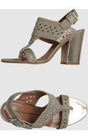 Sigerson Morrison High Heeled Sandals - Lyst