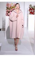 Jil Sander Blush Oversized Wool Coat - Lyst