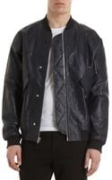 Alexander Wang Crinkle Bomber Jacket - Lyst
