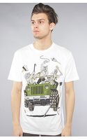 Rook The Death Jeep Tee in White - Lyst