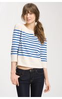 Juicy Couture Nautical Stripe Sweater - Lyst