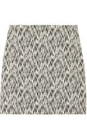 Sandro Joueuse Printed Stretch Cotton-Blend Mini Skirt - Lyst