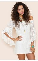 Nasty Gal Bardot Crochet Dress - Lyst