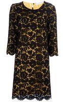 Stella McCartney Double Layered Lace Dress - Lyst