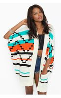 Nasty Gal Arizona Knit Cardi - Lyst