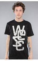 Wesc The Overlay Destroyed Colours Tee in Black - Lyst