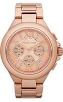 Michael by Michael Kors Camille Chronograph Bracelet Watch - Lyst