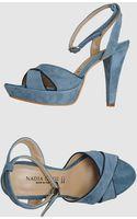 Nadia Grilli Platform Sandals - Lyst
