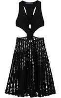 Proenza Schouler Woven Tie Front Dress - Lyst