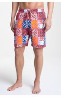 Peter Millar Print Swim Shorts - Lyst