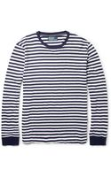 Polo Ralph Lauren Striped Fine Knit Cotton Jersey T-shirt - Lyst