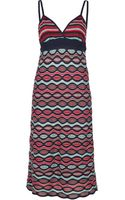 M Missoni Patterned Dress - Lyst