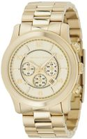 Michael Kors Mens Gold Tone Stainless Steel Bracelet 44mm - Lyst