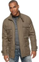 Kenneth Cole Reaction Coated Ottoman Multi Pocket Jacket - Lyst