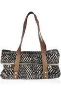 Marni Leather and Chunkyknit Shoulder Bag - Lyst