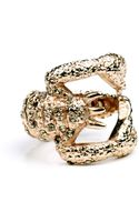 Rachel Roy Rose Gold Tone Scorpion Ring - Lyst