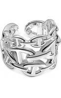 Hermes Silver Jewellery Hermès Rings - Lyst