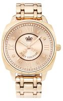 Juicy Couture Beau Rose Gold Plated Stainless Steel Bracelet - Lyst