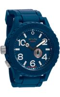 Nixon The 5130 Rubber Watch - Lyst