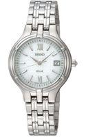 Seiko Womens Solar Stainless Steel Bracelet Watch  - Lyst