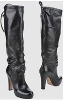 Prada Highheeled Boots - Lyst