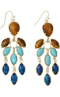 Kendra Scott Multistone Chandelier Earrings Parasol - Lyst