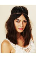Free People Double Rose Headpiece - Lyst