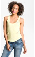 Free People Battenberg Lace Inset Tank - Lyst