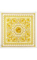 Versace Foulard Square Scarf Gold - Lyst