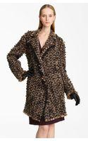 Lanvin Winter Tweed Coat - Lyst
