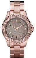 Michael Kors Womens Rose Gold Tone Stainless Steel Bracelet Watch  - Lyst