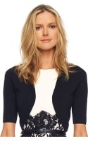 Michael Kors No Half-sleeve Shrug Black - Lyst