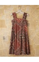 Free People Vintage Batik Printed Dress - Lyst