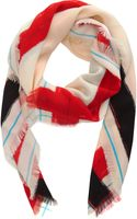 David Szeto India Square Scarf - Lyst