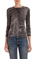 Golden Goose Deluxe Brand Leopard Crewneck Sweater - Lyst