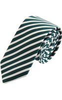 Jil Sander Striped Tie - Lyst