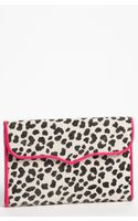 Rebecca Minkoff Leopard Print Passport Wallet - Lyst