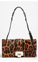 Jimmy Choo River Calf Hair Baguette - Lyst